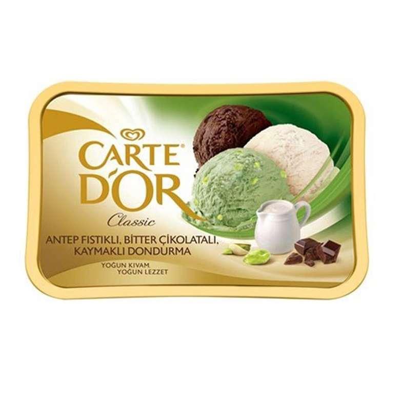 Algida Dondurma Carte D'or Bitter-Kaymak-Fıstık 925 Ml