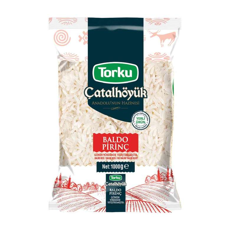 Torku Çatalhöyük Pirinç Baldo Gönen 1000 G