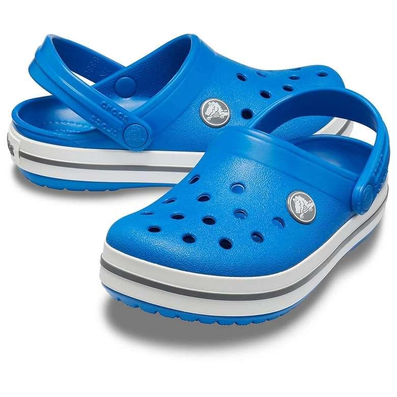 Crocs Çocuk Terlik Mavi Beyaz