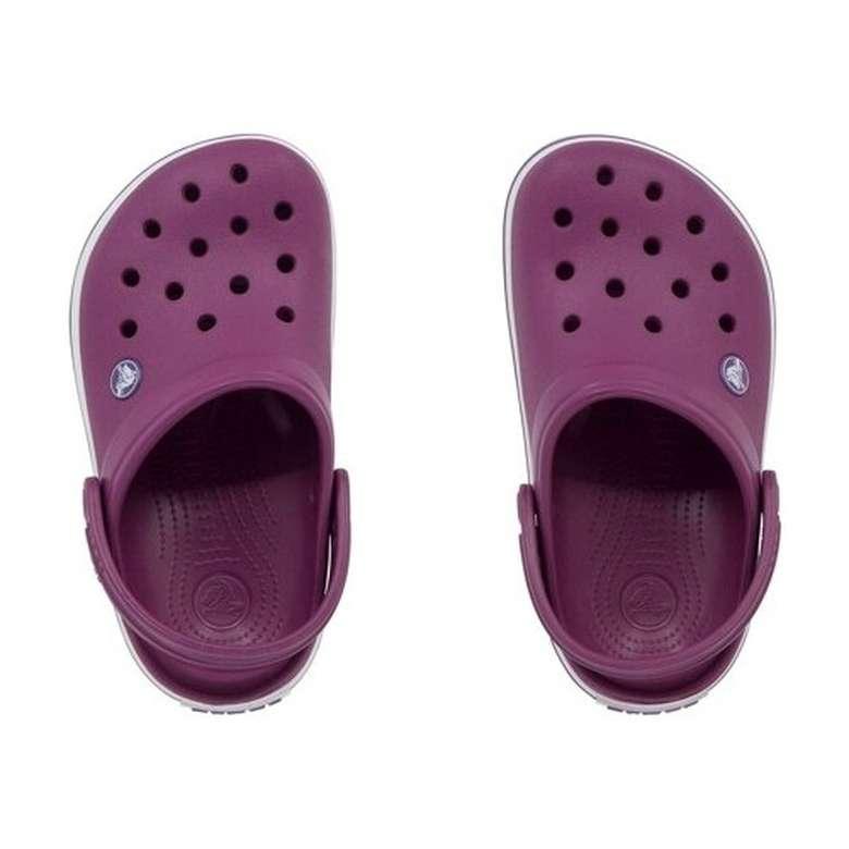 Crocs Çocuk Terlik - Mor-Beyaz, 23-24