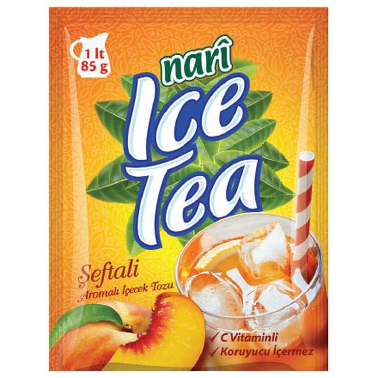 Nari Ice Tea Şeftali Aromalı 85 G