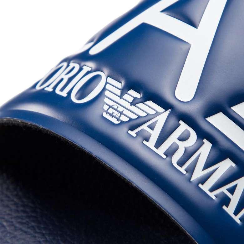 Emporio Armani XC001-XCC22-M49 Erkek Terlik Lacivert