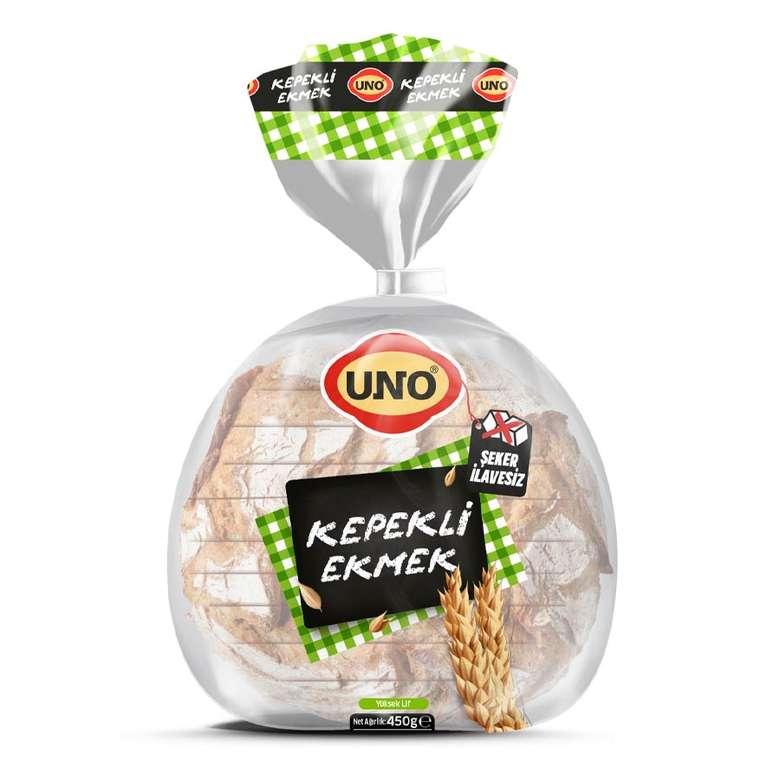 Uno Ekmek Kepekli 450 g