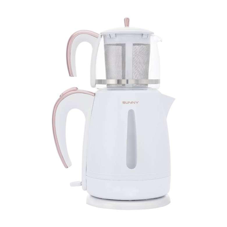 Sunny Harmoni Plastik Çay Makinesi - Beyaz