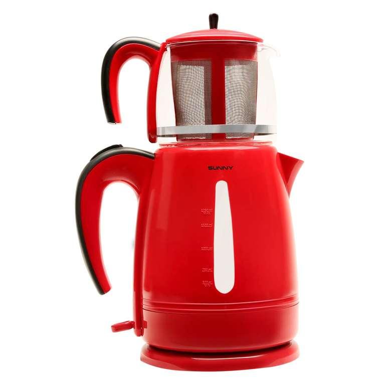 Sunny Harmoni Plastik Çay Makinesi - Kırmızı