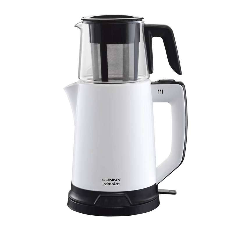 Sunny Senfoni Çay Makinesi - Beyaz