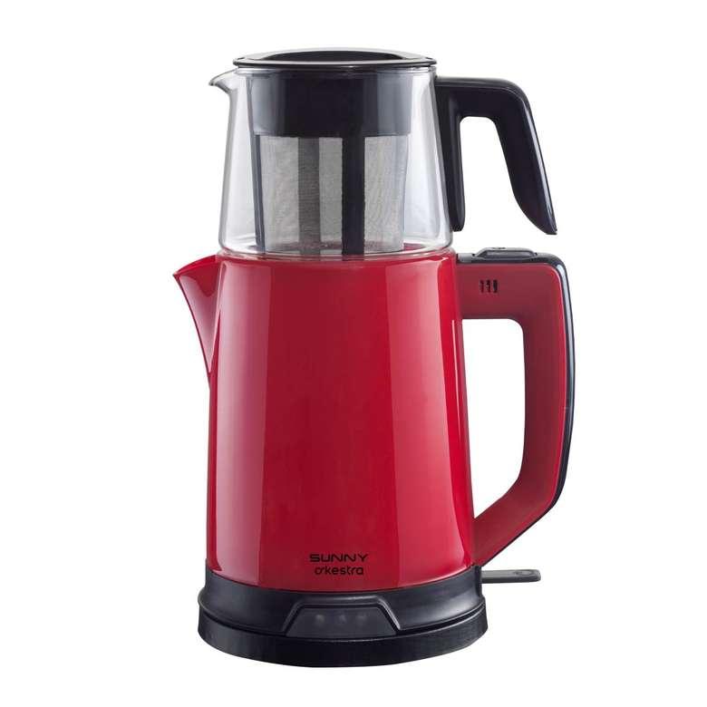 Sunny Senfoni Çay Makinesi - Kırmızı
