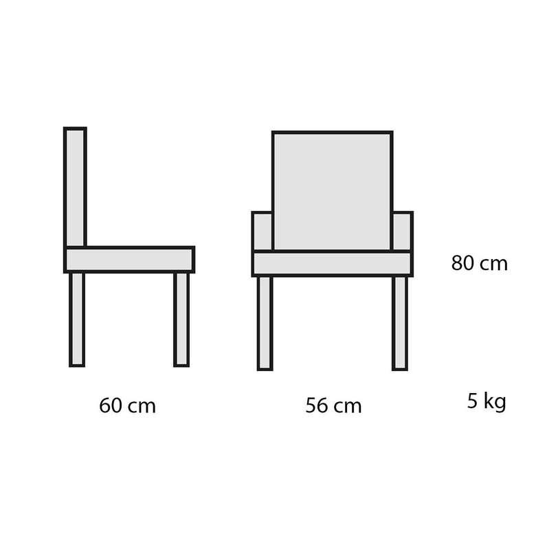 Decosıt Adel Bahçe Masa Takımı (2 Adel Koltuk + 70 Cm Yuvarlak Masa) - Kahverengi