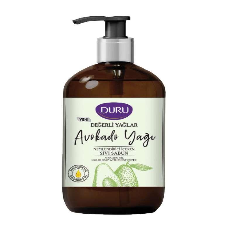 Duru Sıvı Sabun Değerli Yağlar Avokado 500 Ml