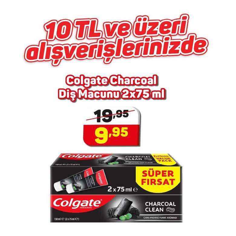 Colgate Diş Macunu Charcoal Clean 2X75 Ml