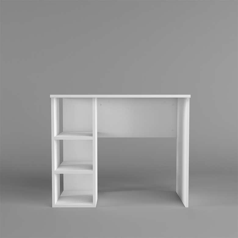 Dienni Bölmeli Çalışma Masası - Beyaz