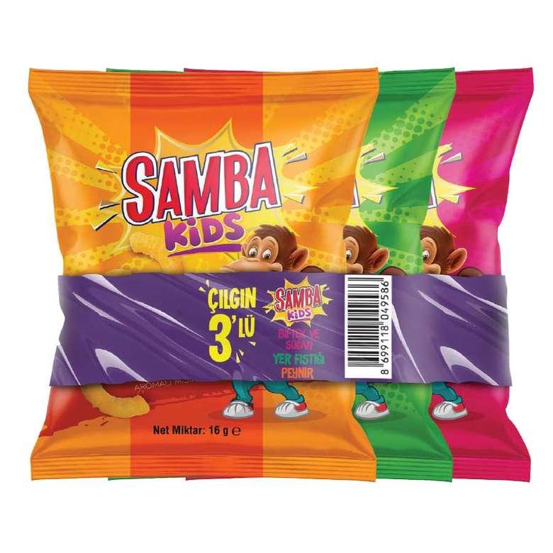 Samba Karma Mısır Cipsi  3x16 g