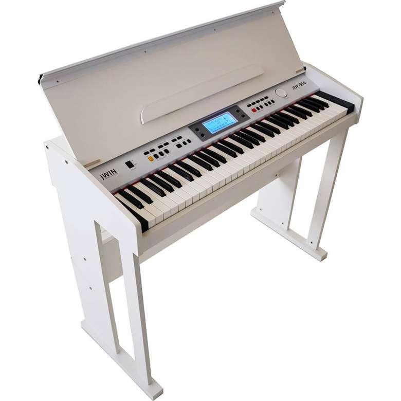 Jwin JDP-950 Ahşap Kabinli Dijital Piyano - Beyaz