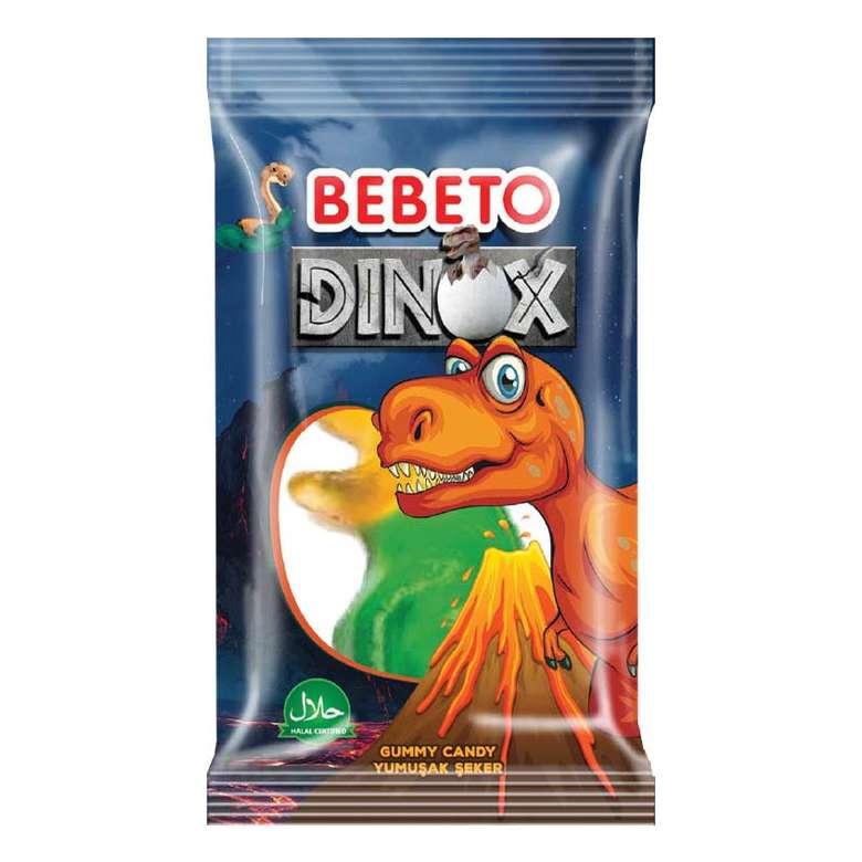 Bebeto Dinox Yumuşak Şeker 25 G