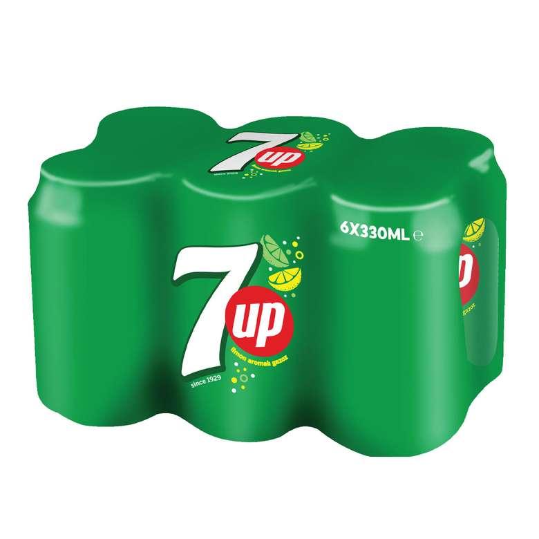 Seven Up Gazoz 6 X 330 Ml