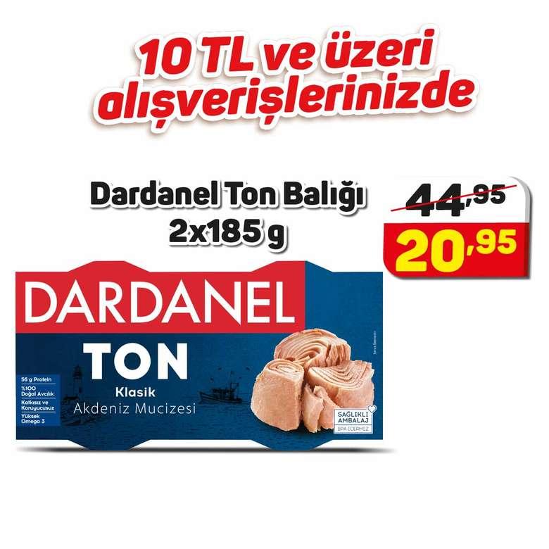 Dardanel Ton Balığı 2X185 G