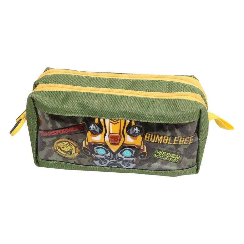 lisanslı due kalem çantası transformers bumblebee