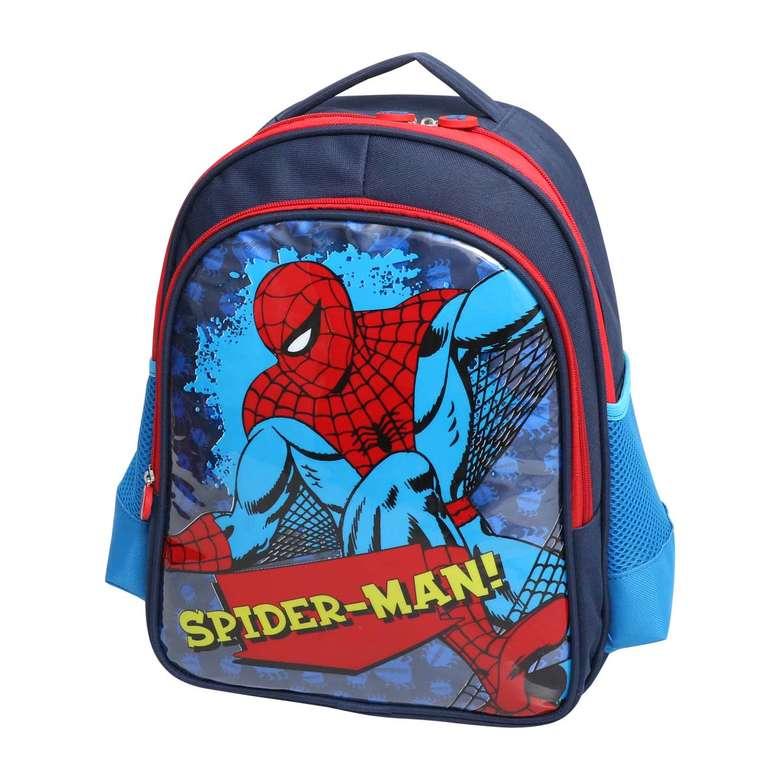 lisanslı due ilkokul çantası spıderman