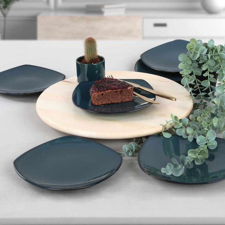 Keramika Safir Pasta Tabağı 22 cm 6 adet