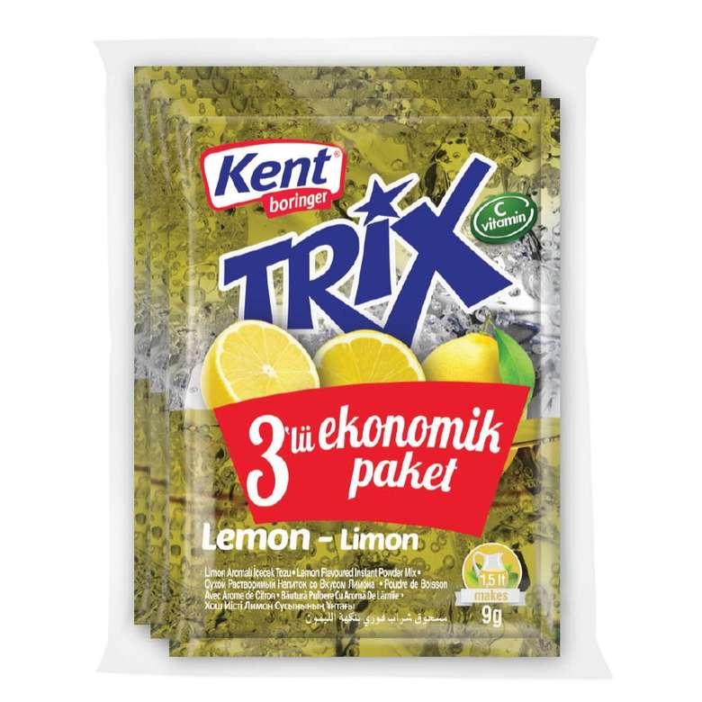 Kent Boringer Trix Portakallı Toz İçecek 3*9g
