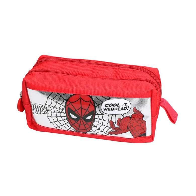 Lisanslı Due Kalem Çantası Spiderman Web