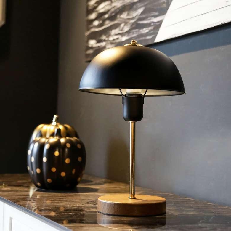 Homing Swiss Dekoratif Masa Lambası - Siyah