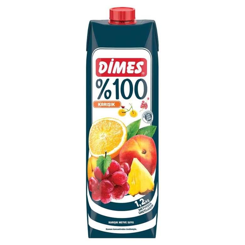 Dimes Meyve Suyu %100 Karışık 1 L