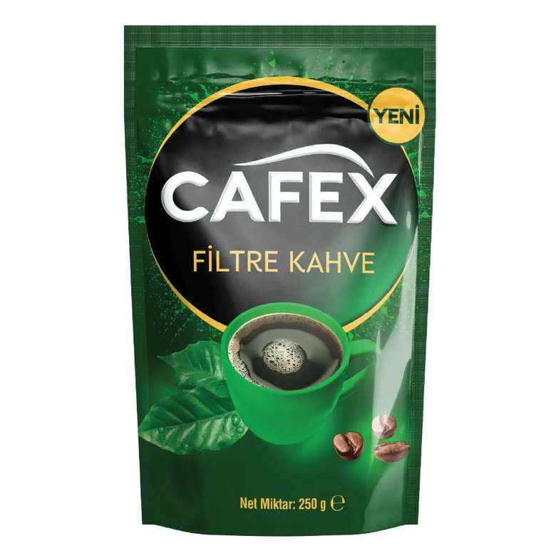 Cafex Filtre Kahve 250 G