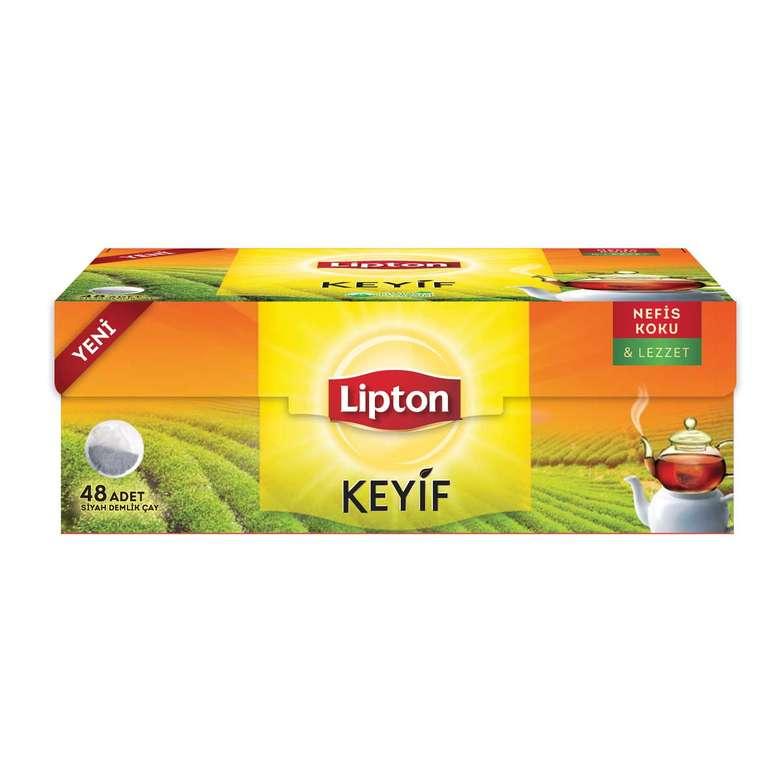 Lipton Demlik Poşet Çay Keyif 48'li