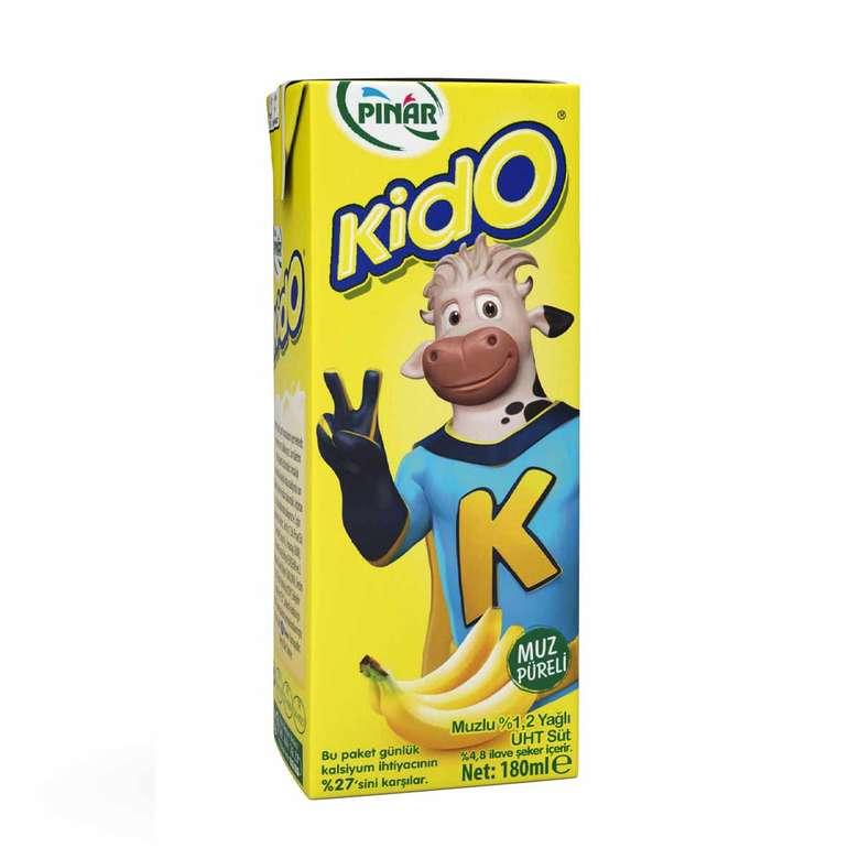 Pınar Kido Muzlu Süt 180 Ml