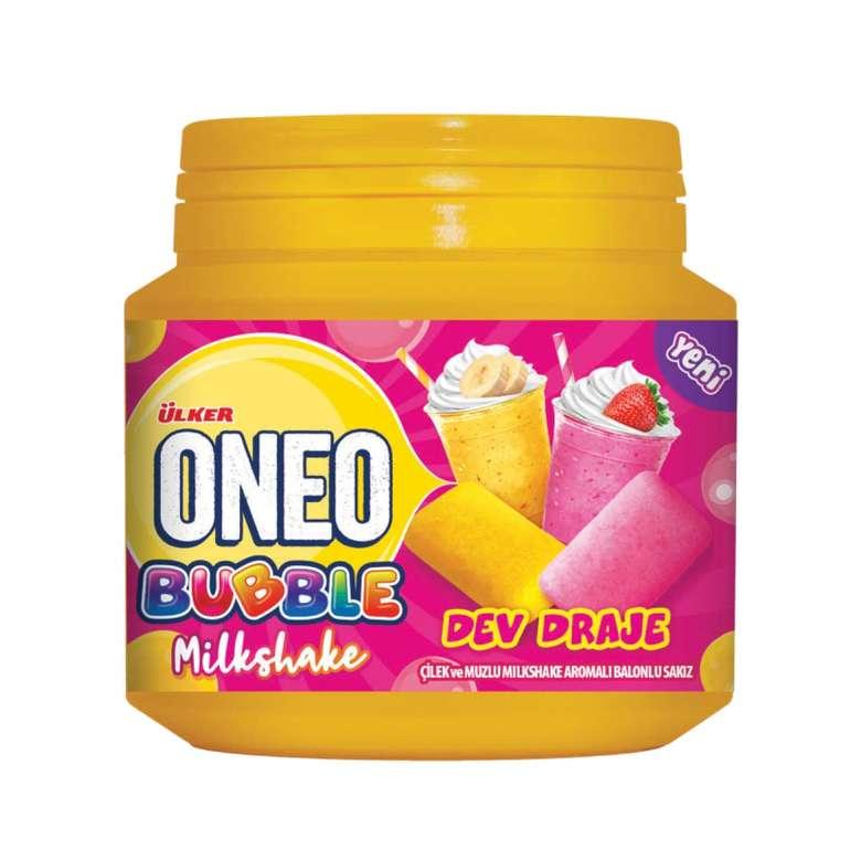 Oneo Sakız Draje Çilek/muz Milkshake 76g