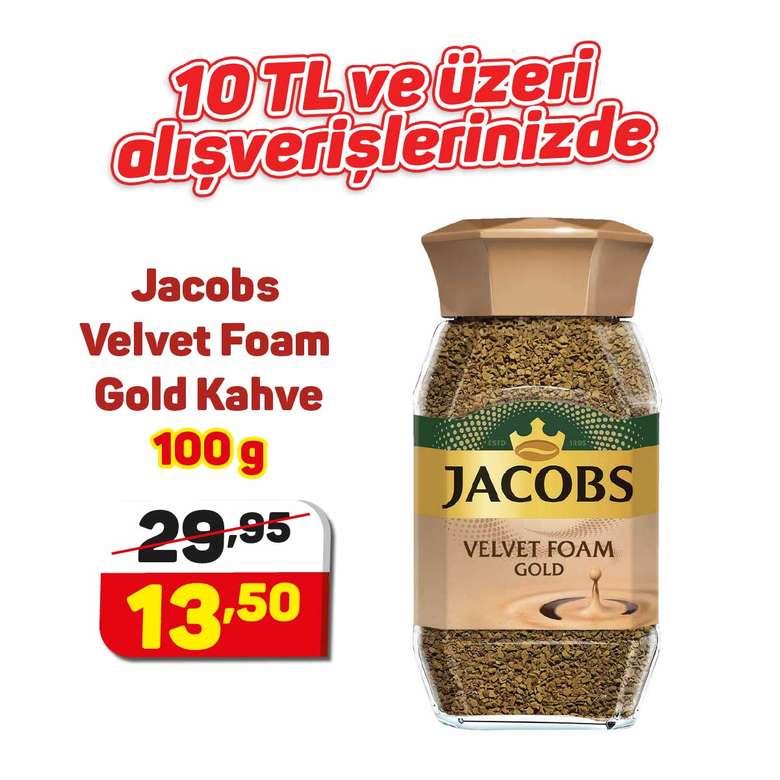 Jacobs Velvet Foam Gold Kahve 100 G