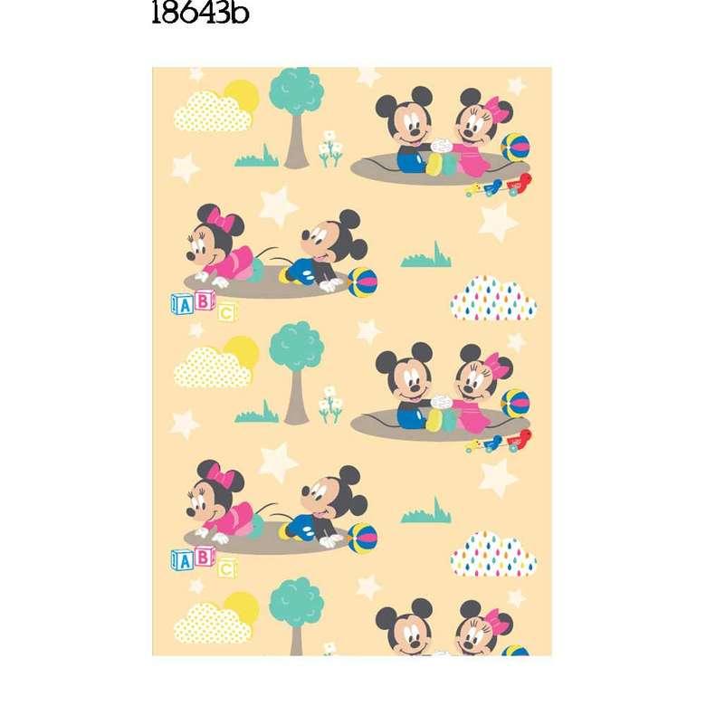 Lisanslı Polar Bebek Battaniyesi Minnie&Mickey Mouse (100x120cm)
