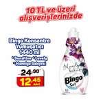 Bingo Manolya Bahçesi Konsantre Yumuşatıcı 1440 Ml