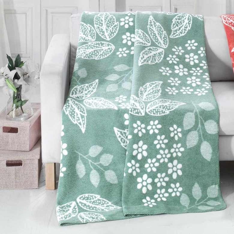 Tek Kişilik Battaniye (150x200 Cm) - Yeşil