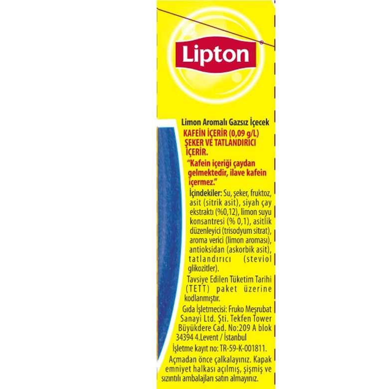 Lipton Buzlu Çay Limon 1000