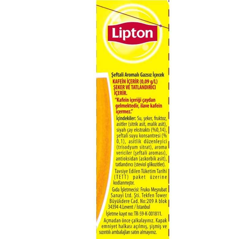 Lipton Buzlu Çay Seftali 1000