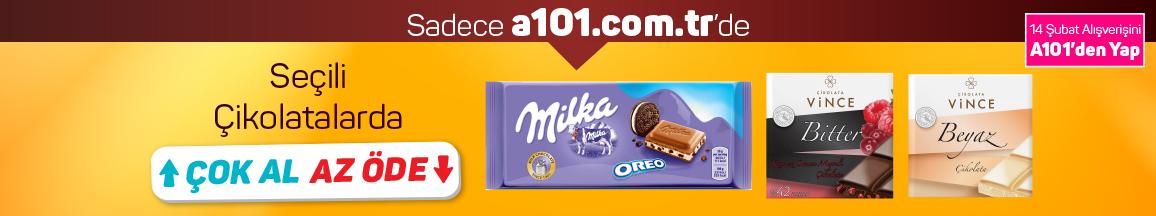 Çikolatalarda Çok Al Az Öde - 5 Şubat