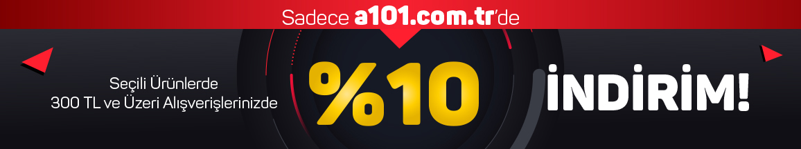 300 TL'ye %10 indirim kampanyası - 13 Şubat