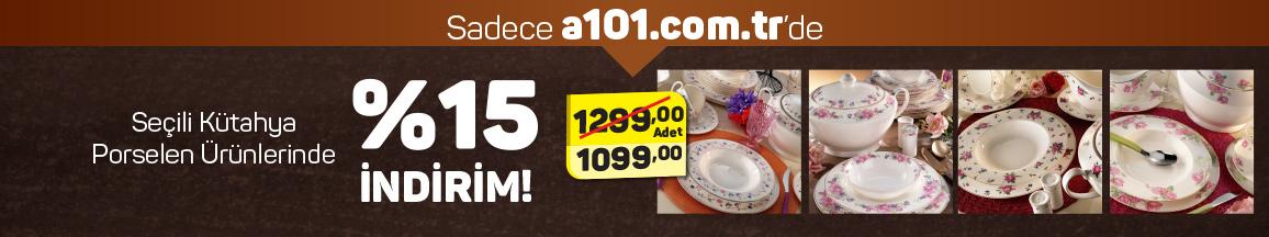 Kütahya Porselen Yemek Takımı 84 Parça 12 şubat