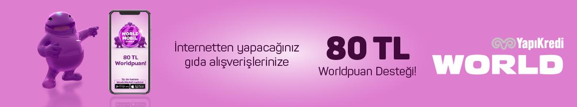 Yapıkredi World Kampanyası Nisan 2020