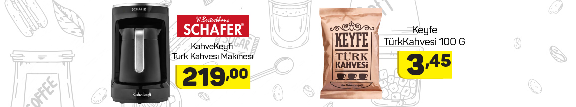schafer Türk kahvesi makinesi 2 nisan