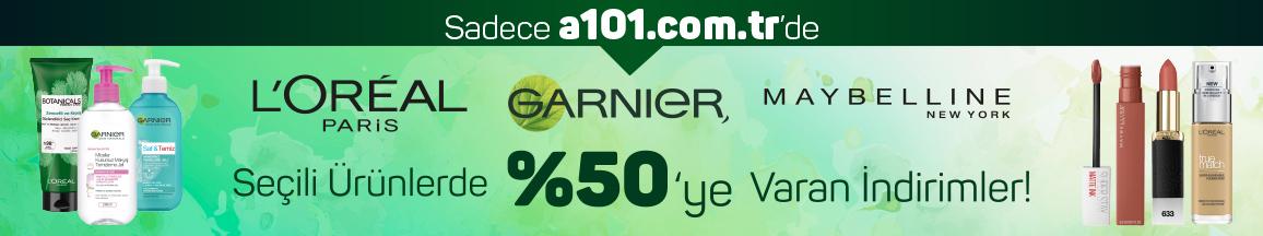 Loreal ürünlerinde %50'ye varan indirimler