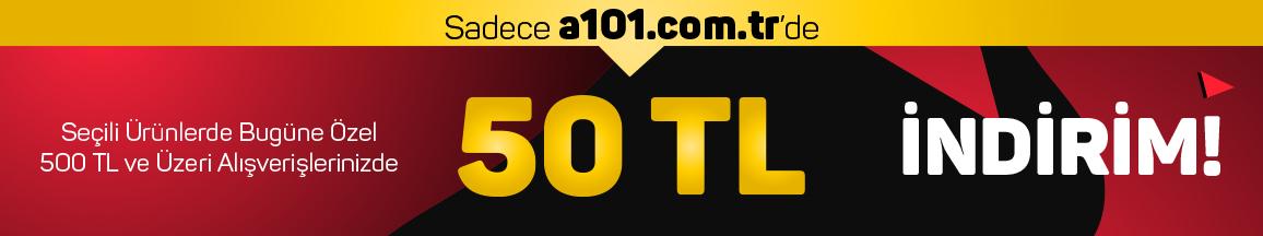 500 TL ve Üzeri Sİparişlerde Anında 50 TL İndirim-10 Eylül