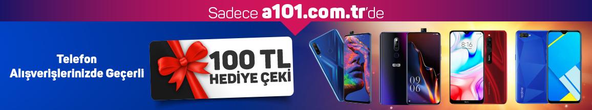 Telefon Alımlarında 100 TL Değerinde Hediye Çeki - 24 Ekim